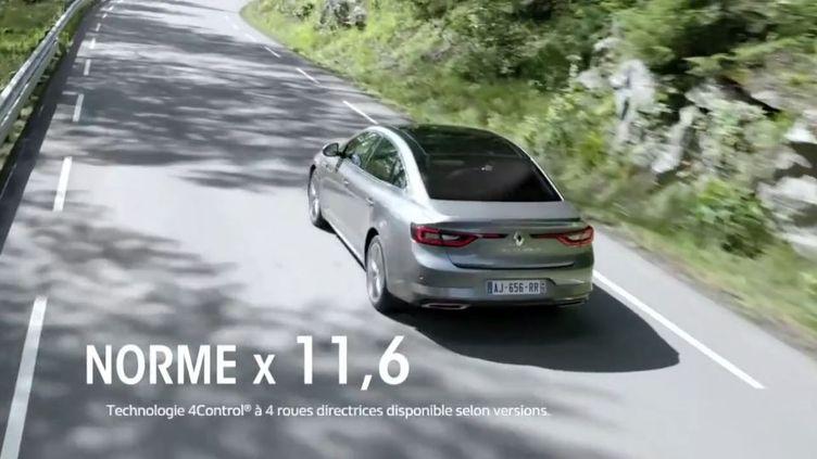 Renault (CAPTURE ECRAN FRANCE 2)