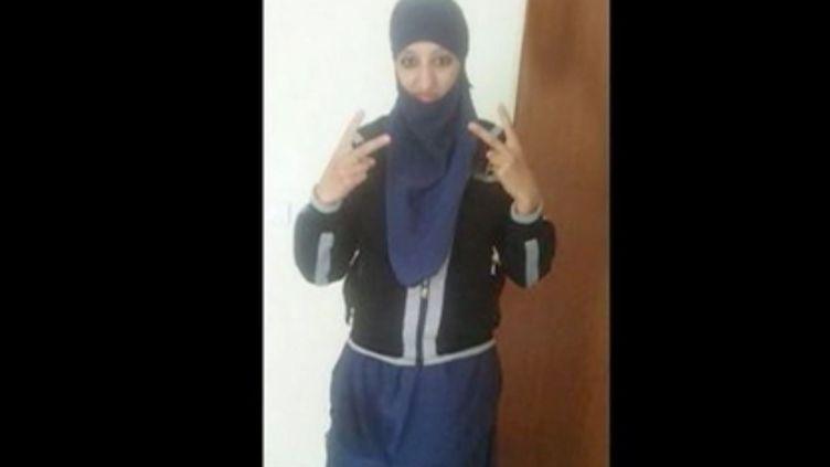 Hasna Aït Boulahcen, la kamikaze présumée de Saint-Denis (Seine-Saint-Denis), photo non datée. (FRANCE 2)
