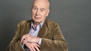 L'écrivain Gabriel Matzneff en 2015 à Paris. (ULF ANDERSEN / AFP)