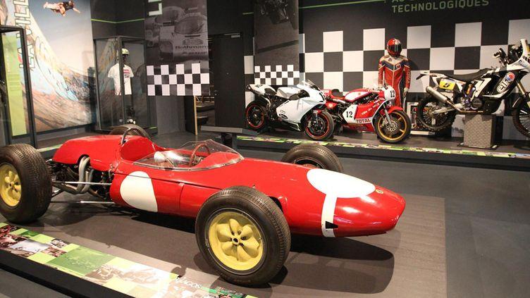 La section sports mécaniques du Musée national du Sport de Nice (26 juin 2014)  (Patrice Lapoirie / Nice Matin / MaxPPP)