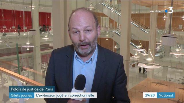 Christophe Dettinger attend son jugement en comparution immédiate