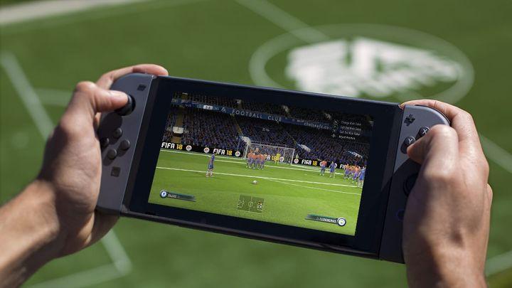 Fifa 18 jouable sur la Nintendo Switch