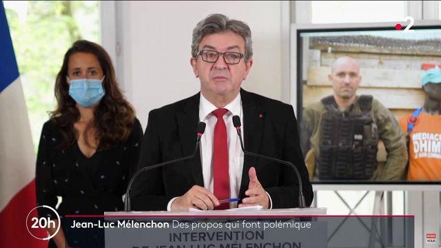 Politique : des propos de Jean-Luc Mélenchon provoquent une vive polémique