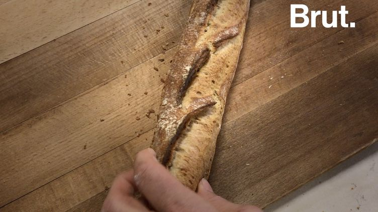 VIDEO. Des baguettes de pain 100 % locales ? C'est possible (BRUT)