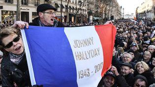 La communion nationale autour de Johnny Hallyday  (Eric Feferberg / AFP)