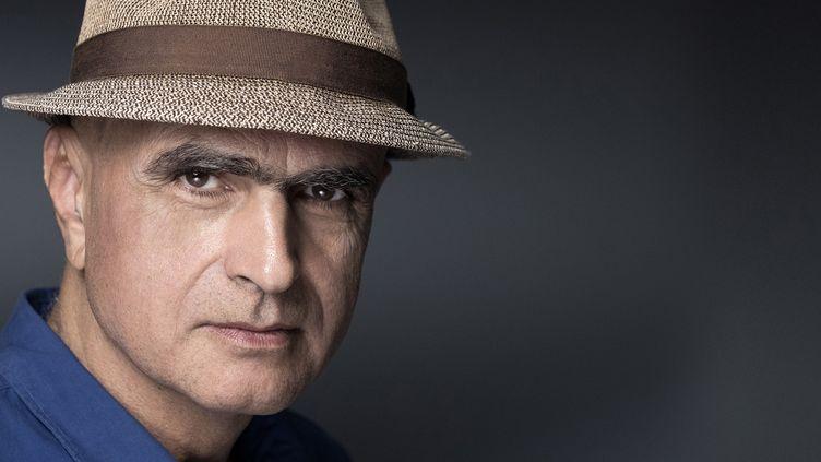 """Le romancier Luc Lang en septembre 2019, aux """"Correspondances de Manosque"""" (JOEL SAGET / AFP)"""