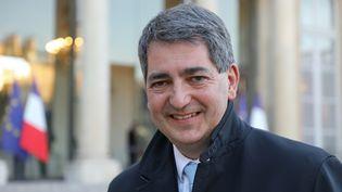 Jean Rottner, le président de la région Grand Est, au palais de l'Elysée à Paris, le 26 février 2019. (LUDOVIC MARIN / AFP)