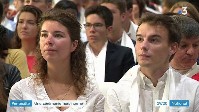 Pentecôte : cérémonie hors norme à Lille