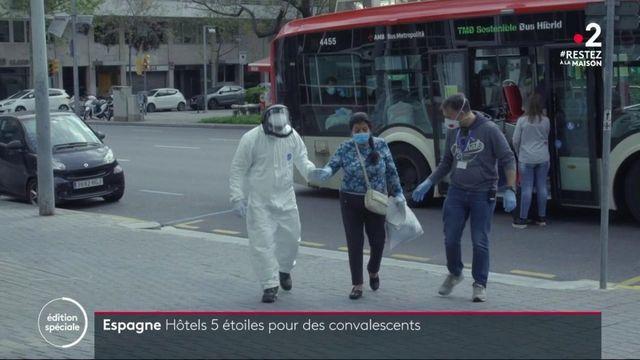 Coronavirus : en Espagne, les malades convalescents sont logés à l'hôtel