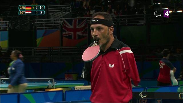 Jeux paralympiques : l'incroyable performance d'un pongiste égyptien