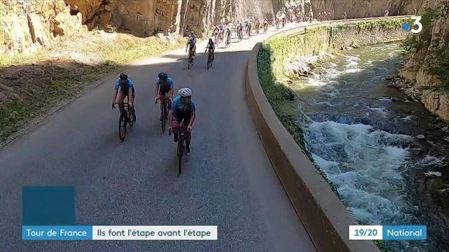 Tour de France : des passionnés font l'étape avant les pros