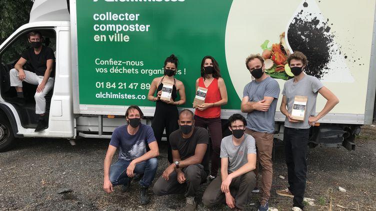 L'équipe francilienne des Alchimistes/ (ISABELLE MORAND / LES ALCHIMISTES / RADIO FRANCE / FRANCE INFO)