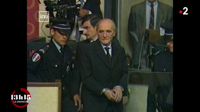 VIDEO. Les Klarsfeld ont réussi à faire juger le nazi Klaus Barbie pour crimes contre l'humanité, une première en France