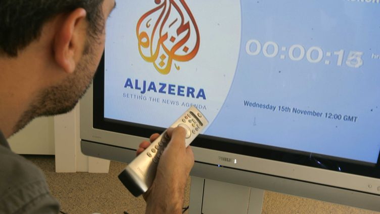 La chaîne télévisée qatarie Al Jazeera a été lancée en anglais le 15 novembre 2006. (POUZET / SIPA)