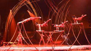 Une représentation du Cirque du Soleil à Montréal en 2015. (ESPECIAL / NOTIMEX)