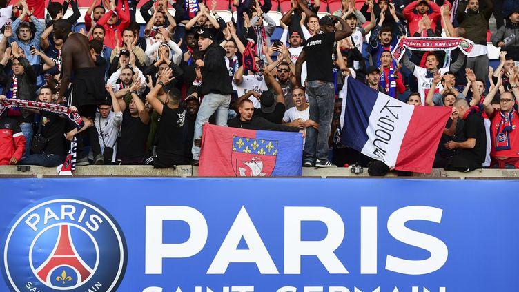 Des fans du PSG (FRANCK FIFE / AFP)