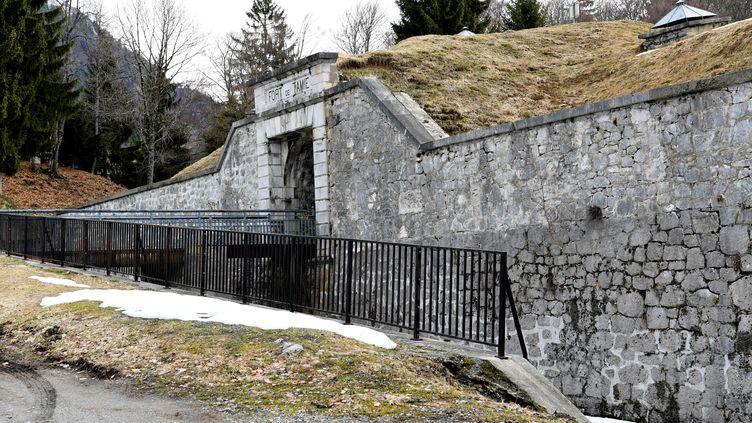 Le Fort de Tamié (Savoie), en mars 2018. (JEAN-PIERRE CLATOT / AFP)