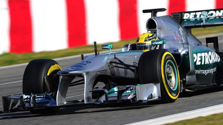 Lewis Hamilton (Mercedes) (JOSEP LAGO / AFP)