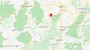Le Chambon-Feugerolles (Loire).  (GOOGLE MAPS)