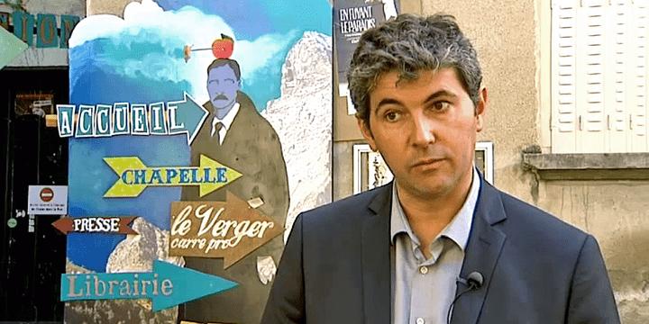 Gilles Platret (LR), maire de Chalon-sur-Saône  (France3/Culturebox)