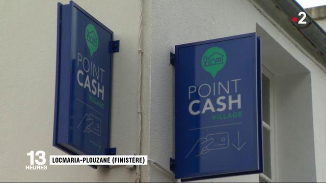 Finistère : un distributeur de billets sans banque pour dynamiser une zone rurale