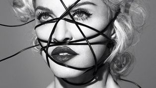 "Madonna sur la pochette de son prochain album ""Rebel Heart"".  (Interscope)"
