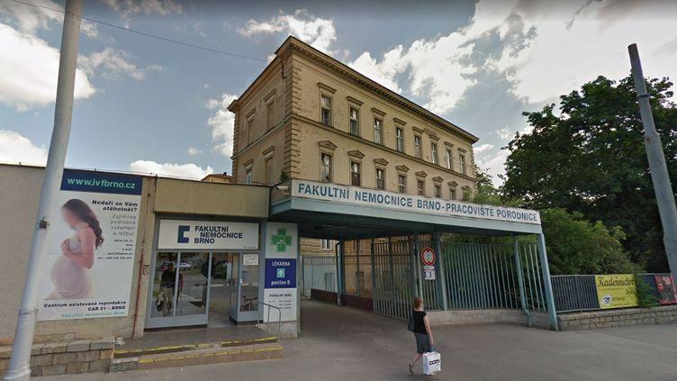 Eliska est née par césarienne durant la 34ème semaine de grossesse à l'Hôpital universitaire de Brno (République tchèque). (GOOGLE STREET VIEW)