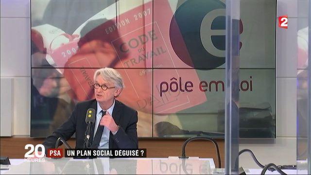 PSA : rupture conventionnelle collective ou plan social déguisé ?