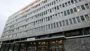 L'entrée de l'université Pierre-et-Marie-Curie, à Paris, le 17 février 2006. (BERTRAND GUAY / AFP)
