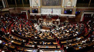L'Assemblée nationale lors de la séance des questions au gouvernement, le 31 octobre 2017. (LIONEL BONAVENTURE / AFP)