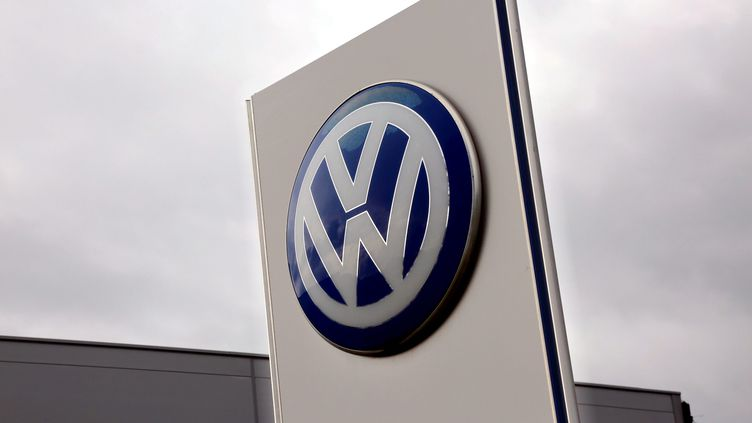 Logo Volkswagen (photo d'illustration) (MAXPPP)