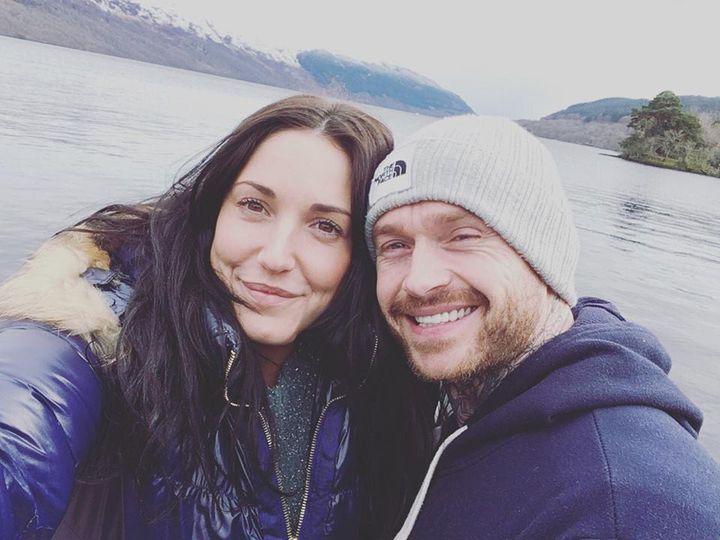 Gaëlle et Rob, le 4 avril 2018 à Arrochar, en Ecosse. (GALLE)