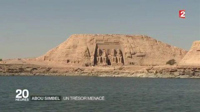 Égypte : le temple d'Abou Simbel, un trésor menacé