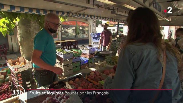 Consommation : les Français boudent les fruits et légumes
