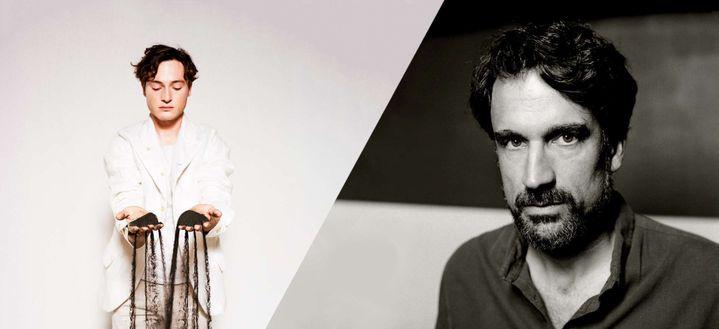 Les pianistes Thomas Enhco et Bapriste Trotignon. (FRANK LORIOU / RICHARD DUMAS)
