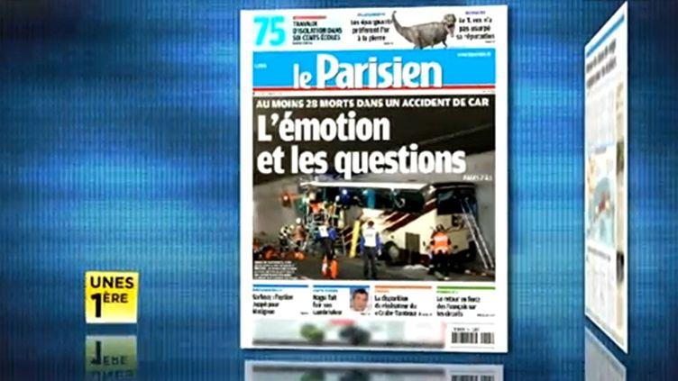 La revue de presse de la 1ère, jeudi 15 mars. (FTVI)