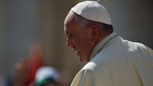 Le pape François au Vatican, le 30 juin 2016. (GABRIEL BOUYS / AFP)