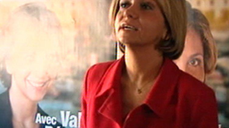 Valérie Pécresse en campagne pour les régionales (F3)