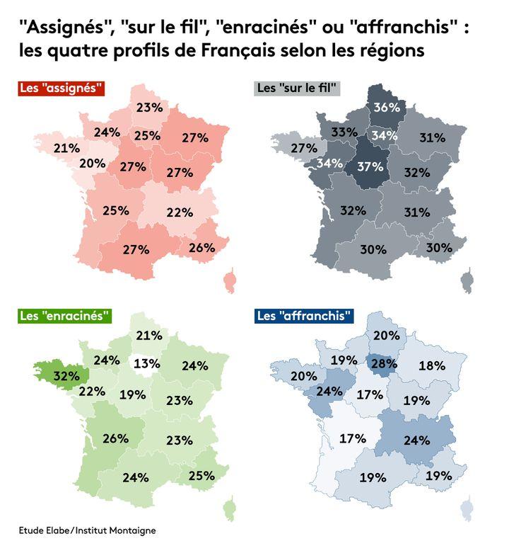 Baromètre des territoires Elabe / Institut Montaigne. (FRANCEINFO / RADIO FRANCE)