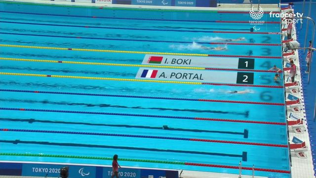 Para natation : Alex Portal qualifié pour la finale du 400 m nage libre S13