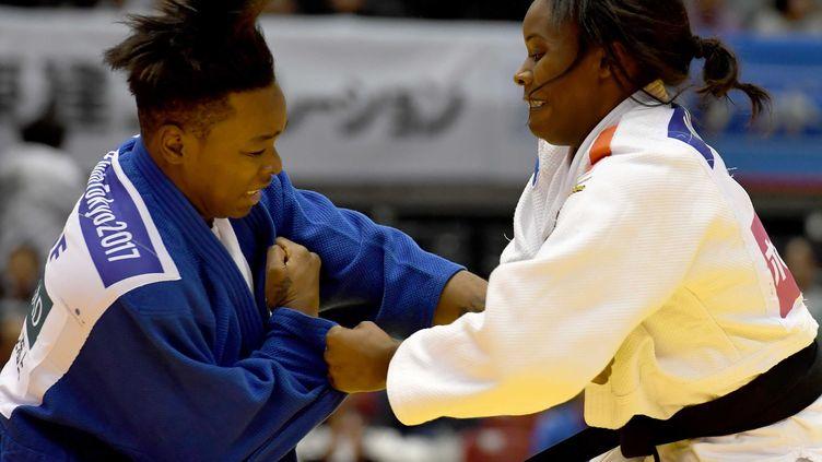 Madeleine Malonga contre Audrey Tcheuméo (TOSHIFUMI KITAMURA / AFP)