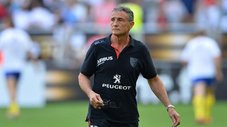 Guy Novès, l'ancien entraîneur du Stade Toulousain (NICOLAS TUCAT / AFP)