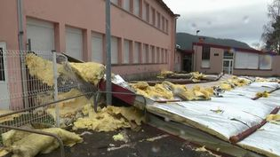 Saint-Dié-des-Vosges : des dégâts sur les établissements scolaires (FRANCE 2)