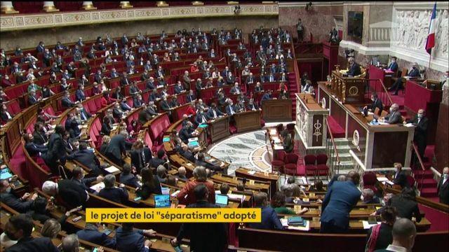 Séparatisme : le projet de loi adopté en première lecture à l'Assemblée nationale
