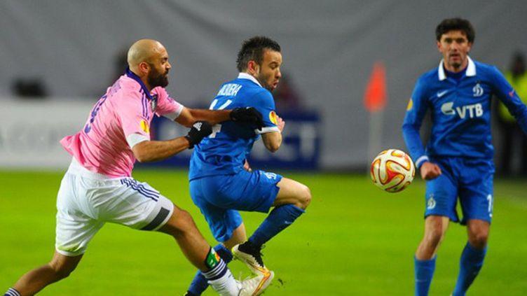 Mathieu Valbuena et le Dynamo Moscou sont en 8e de finale (ANTON SERGIENKO / ANADOLU AGENCY)