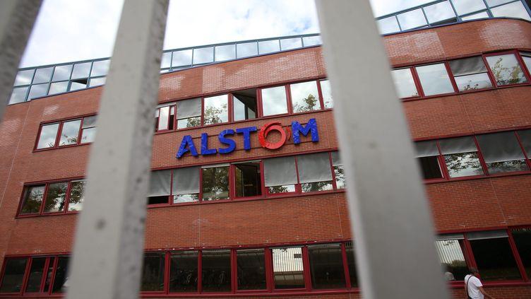 Le protocole d'accord pour l'alliance entre Siemens et Alstom a été signé en septembre 2017. (MAXPPP)