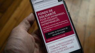 Le Fonds de solidarité a été lancé en mars 2020 pour venir en aide aux entreprises pendant la crise du Covid-19. (RICCARDO MILANI / HANS LUCAS / AFP)