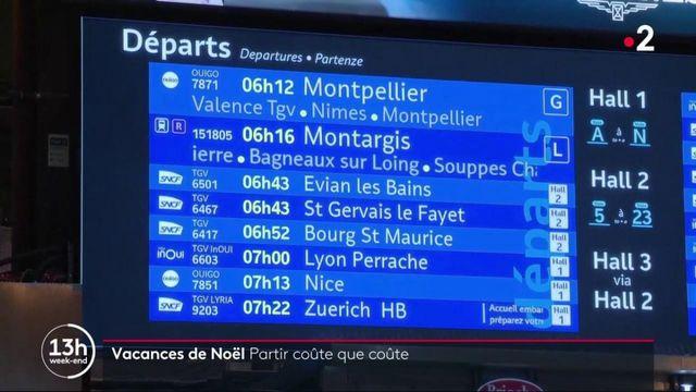 Transports : la grève à la SNCF complique le départ en vacances