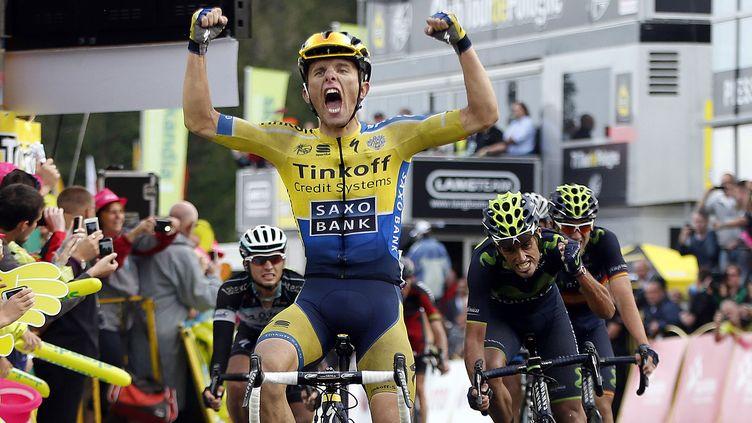 Rafal Majka, vainqueur du Tour de Pologne 2014 (ILARIO BIONDI / TOUR DE POLOGNE)