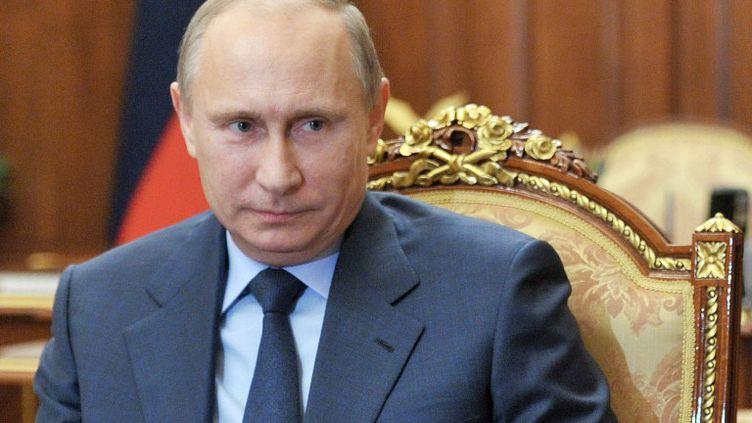 Le président russe, Vladimir Poutine, au Kremlin, à Moscou, le 1er octobre 2013. (ALEXEI NIKOLSKY / RIA-NOVOSTI / AFP)